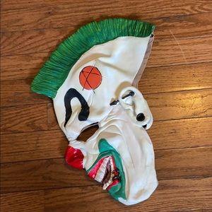 Rubies Costume Co Evil Rocker Clown Mask